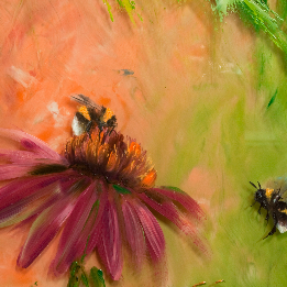 punahattu,puutarha,mehiläinen,kimalainen,leppäkerttu,elokuu,lämmin,rudbeckia, garden, bee, bumblebee, ladybug, August, warm